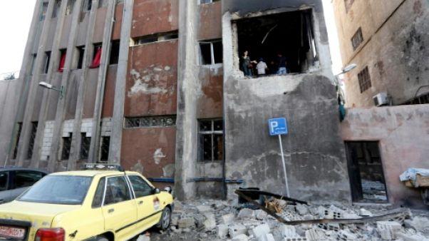 Le groupe Etat islamique (EI) revendique l'attentat suicide à Damas