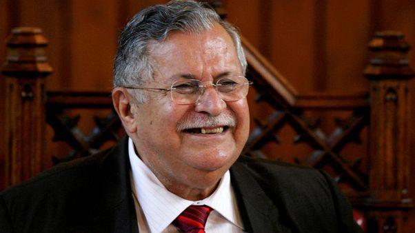 Kurdish leader and ex-Iraqi president Jalal Talabani dies: state TV