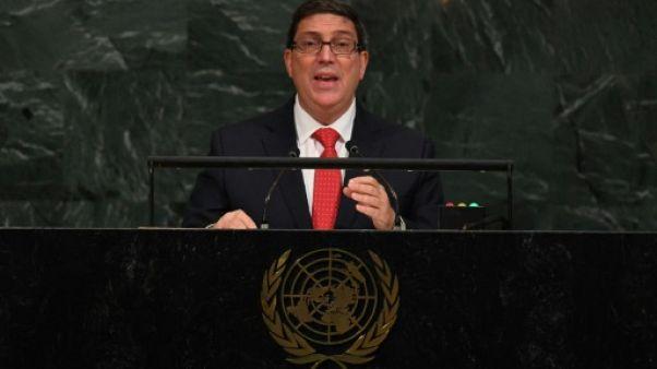 "Cuba juge ""inacceptable"" l'expulsion de ses diplomates par Washington"