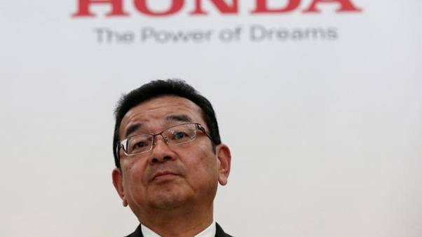 Honda CEO to hold news conference at 0630 GMT