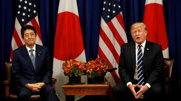 Trump, Japan PM Abe to hold phone talks Wednesday - source