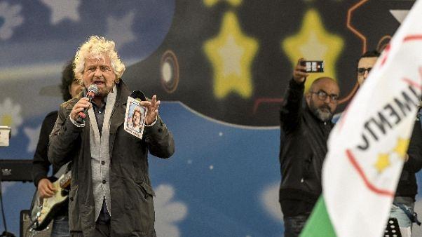 Auguri Grillo a M5S, arriva la riscossa