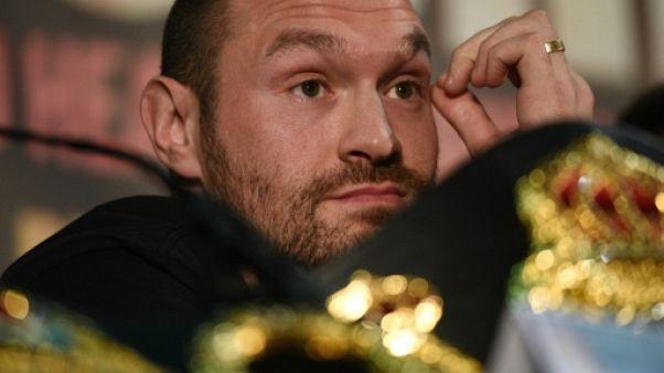Boxe: Tyson Fury ne va pas demander de nouvelle licence pour combattre