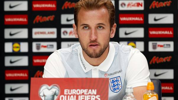 Kane named England captain for Slovenia qualifier