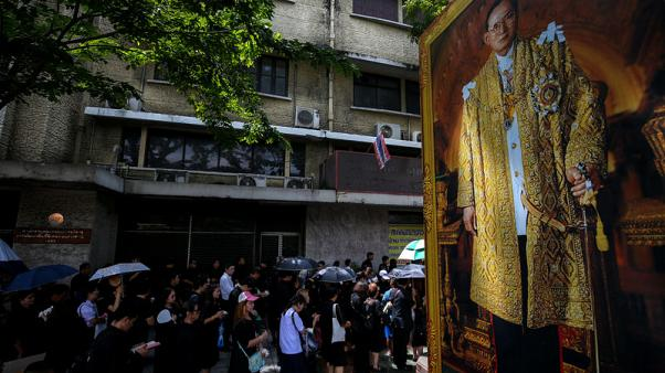 Thousands queue to pay last respects to Thailand's late King Bhumibol