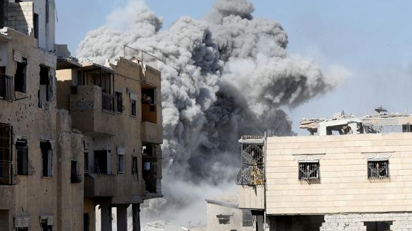 Syria fighting worst since Aleppo, civilian casualties mount - ICRC