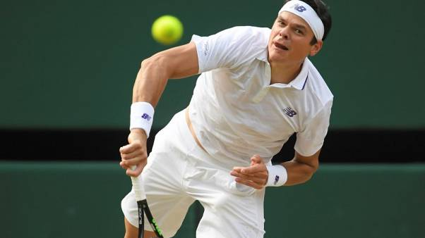 Raonic crashes out of Japan Open with new injury