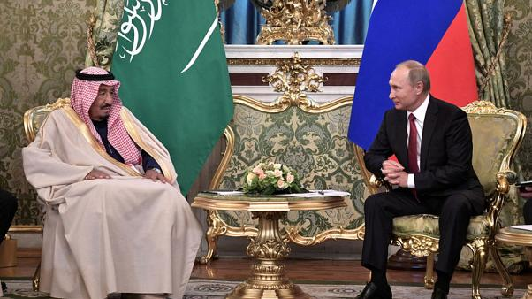 Saudi king tells Putin Iraqi territorial integrity must be preserved