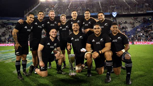 All Blacks expected to complete clean sweep