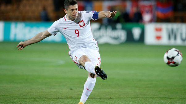 Lewandowski brace makes him Poland's record scorer