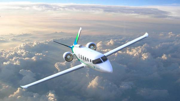Boeing-backed, hybrid-electric commuter plane to hit market in 2022