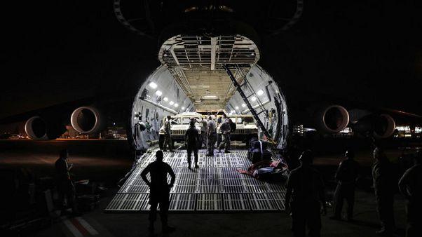 Hurricane relief efforts delay deployment of U.S. troops to Afghanistan