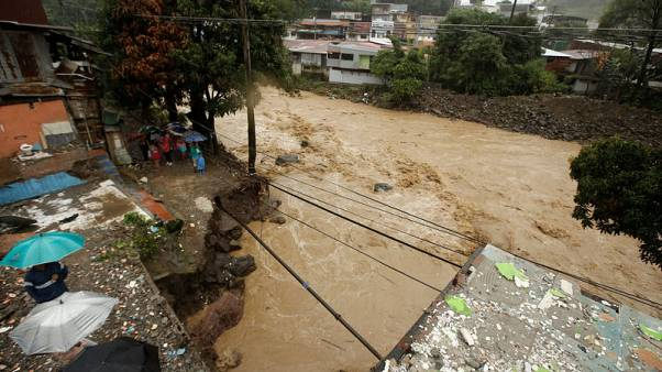 Tropical Storm Nate kills 10 in Central America, heads for U.S.