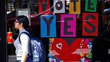 Stirred by same-sex marriage vote, Australia's youth gets serious