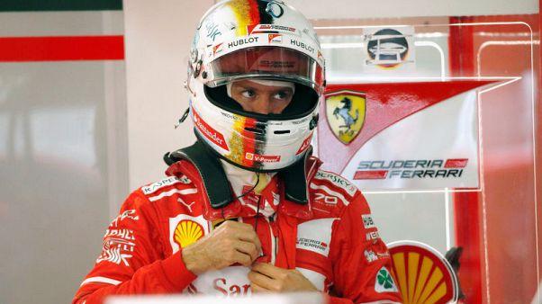 Vettel sets early pace from Hamilton in Suzuka