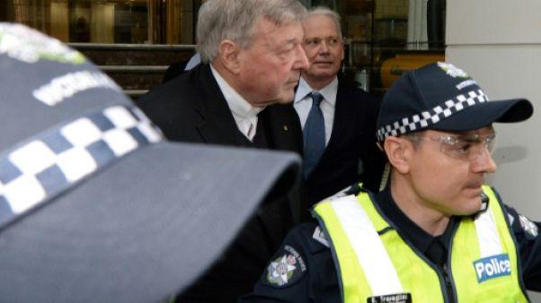 Australie: une cinquantaine de témoins pourraient être convoqués dans l'enquête Pell