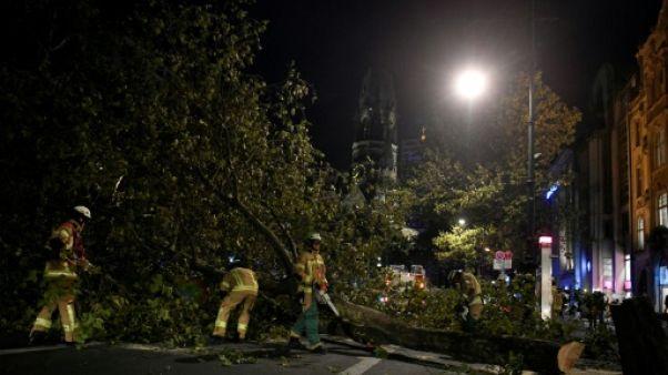 Allemagne: trafic ferroviaire encore perturbé après une tempête qui a fait 7 morts