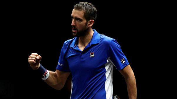 Cilic powers into Japan Open semi-finals