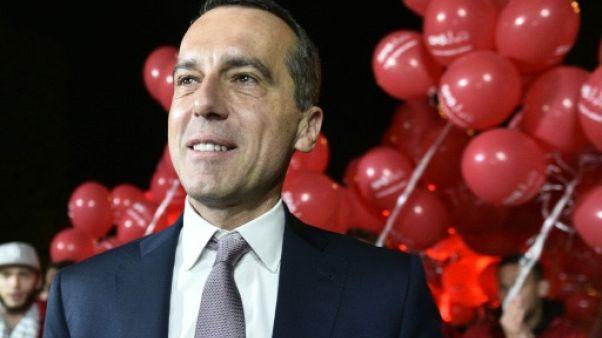 """Autriche: la gauche happée par un """"tsunami"""" avant les législatives"""
