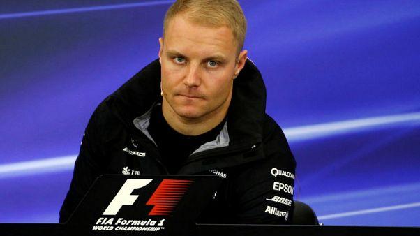 Mercedes'Bottas set for gearbox penalty in Japan