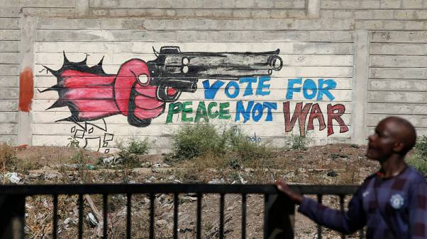 Police teargas Kenyan vote protesters, crowds gather in cities