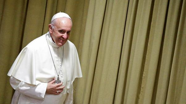 Pope tells web companies - use profits to protect children