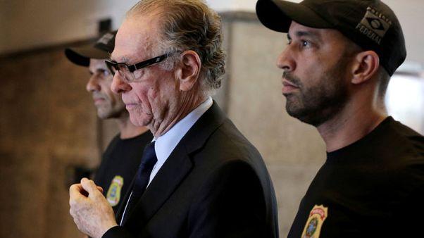 IOC suspends Brazil's Nuzman after arrest in vote-buying scandal