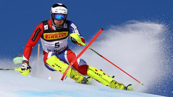Alpine skiing-Ryding ready for the great indoors