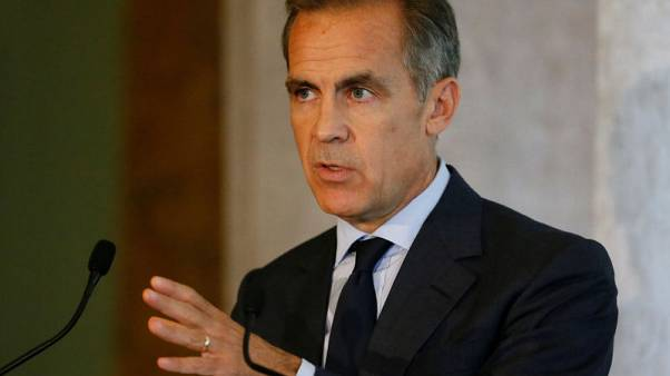 Bank of England's Carney to stay on as FSB chair for an extra year