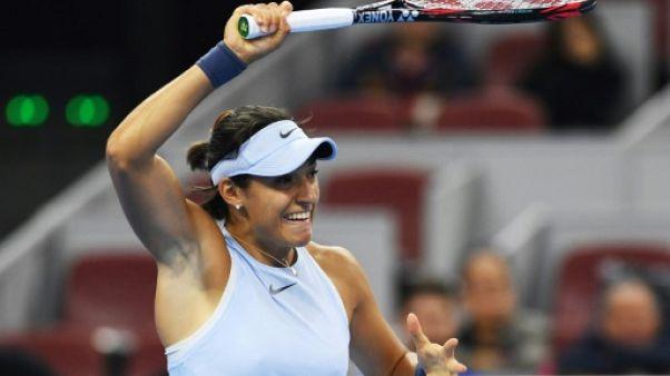 Tennis: Garcia en demi-finales à Pékin et en course pour Singapour
