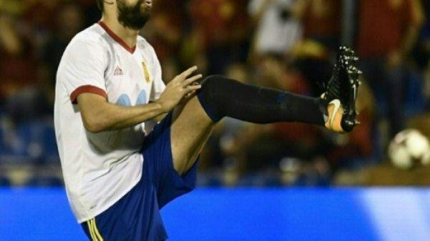 Mondial-2018: titulaire avec l'Espagne contre l'Albanie, Piqué sifflé et acclamé