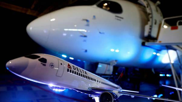 U.S. backs 300 percent in duties on Bombardier after Boeing complaint