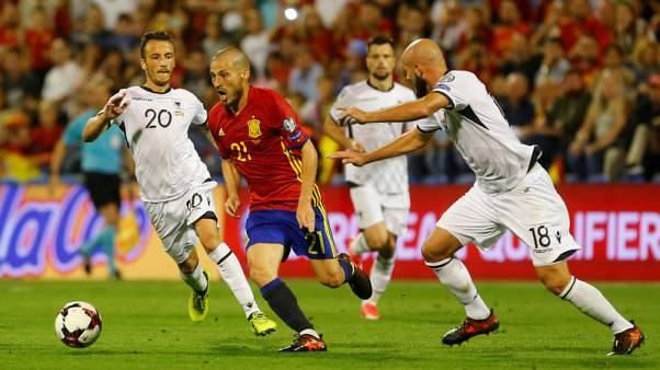Spain qualify for 2018 World Cup
