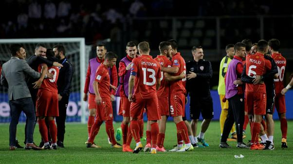 Uninspired Italy held to 1-1 draw by Macedonia