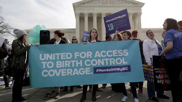 Trump undermines U.S. birth control coverage requirement