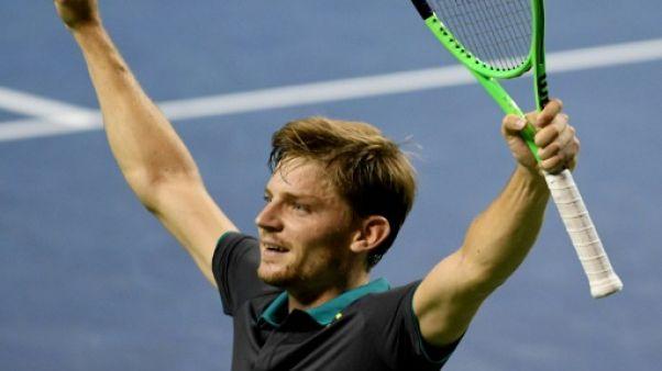 Tennis: Goffin en finale à Tokyo