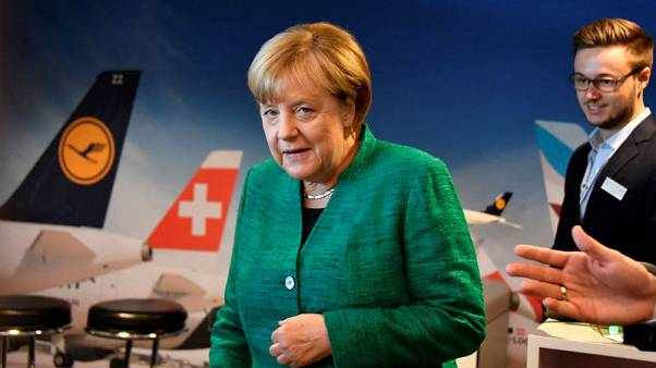 Merkel pushes for three-way 'Jamaica' coalition in Germany