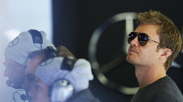 F1: Rosberg, bello vedere Ferrari forte