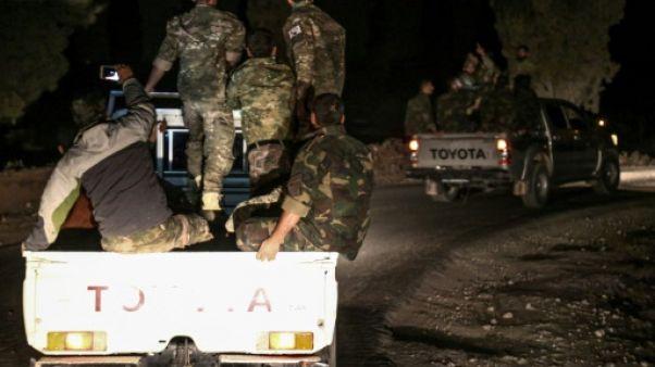 Opération des rebelles syriens dans la province d'Idleb, selon Erdogan