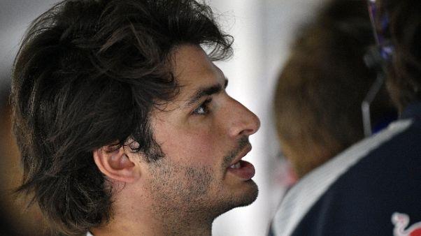 Sainz correrà con la Renault in Texas