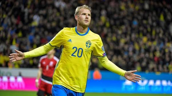 Berg hits four as Sweden hammer Luxembourg 8-0