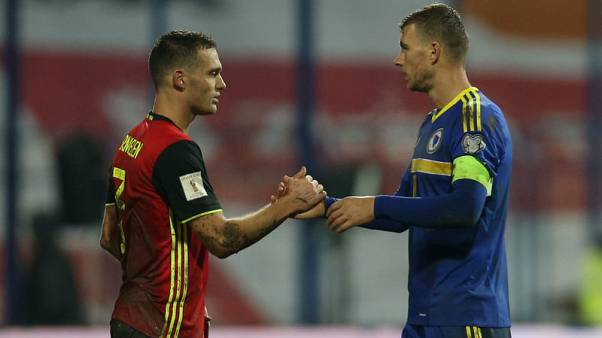 Ruthless Belgium beat Bosnia 4-3 in rollercoaster
