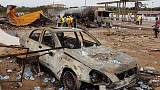Massive explosion at gas station rocks Ghana's capital Accra - Reuters witness