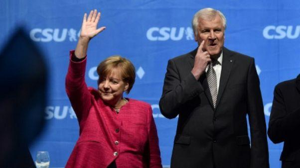 Merkel accepte de limiter à l'avenir le nombre de réfugiés en Allemagne