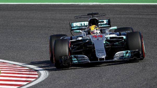 Hamilton vince Gp Giappone, Vettel a -59