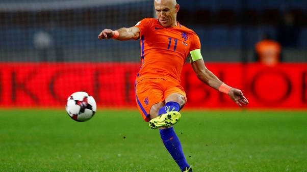 Robben gives up on World Cup qualification for Dutch despite win