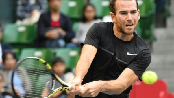 Tennis: Mannarino battu en finale par Goffin à Tokyo