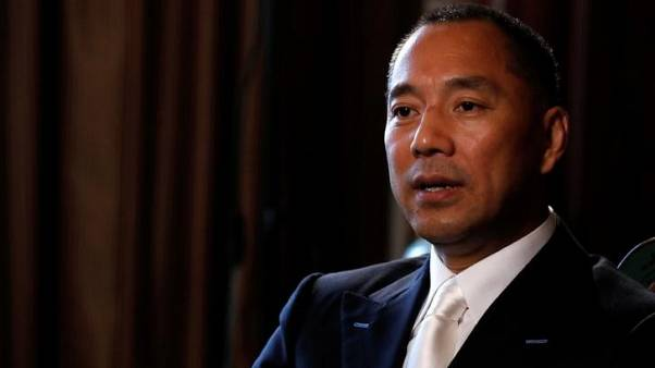 China denies links to alleged cyber attacks in United States targeting exiled tycoon Guo