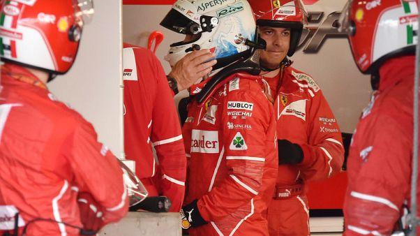 Vettel reprimanded for anthem absence
