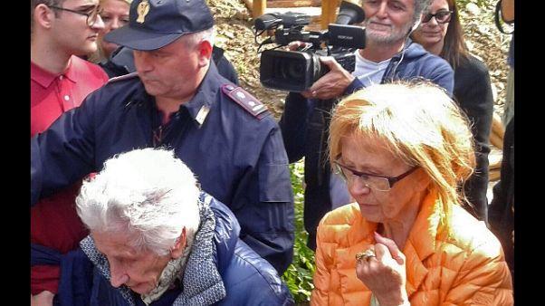 Terremoto, 95enne sfrattata lascia casa